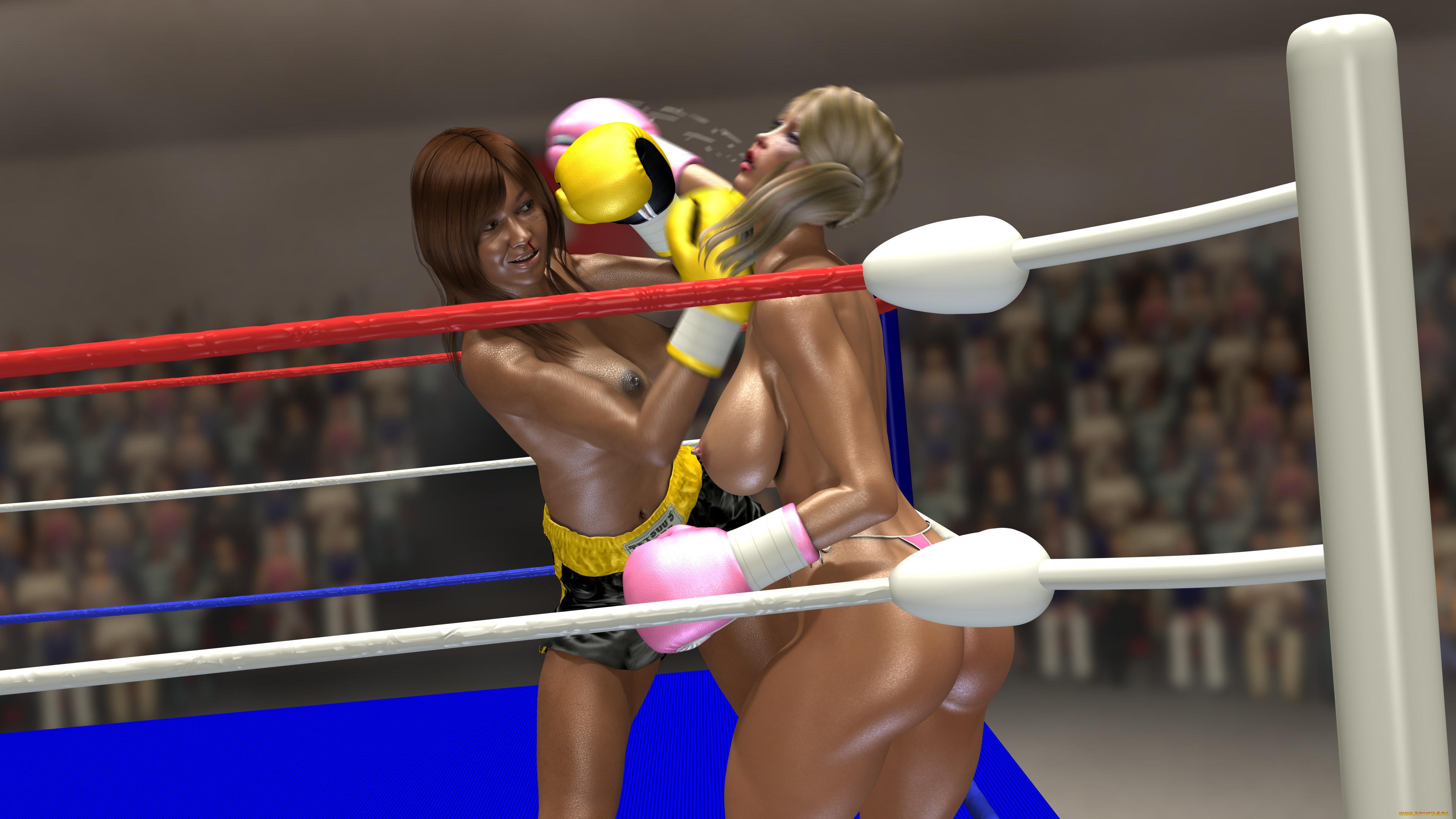 Эротичные Обои Девушек На Ринге